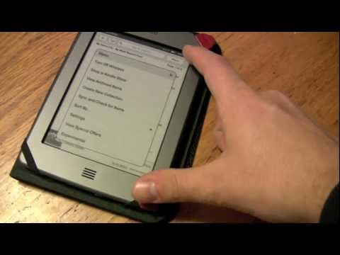 Kindle Touch Browser - Demo Review Of Experimental Built-in Browser