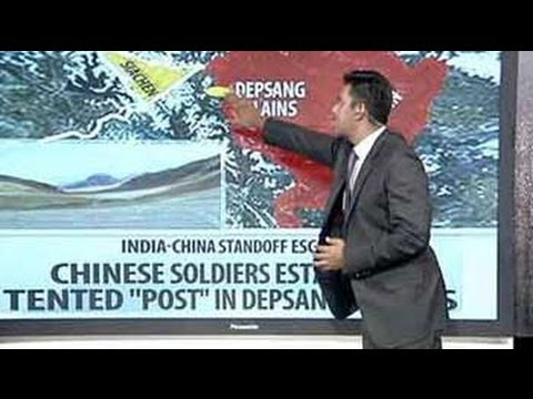 Border row: Areas of dispute between India and China