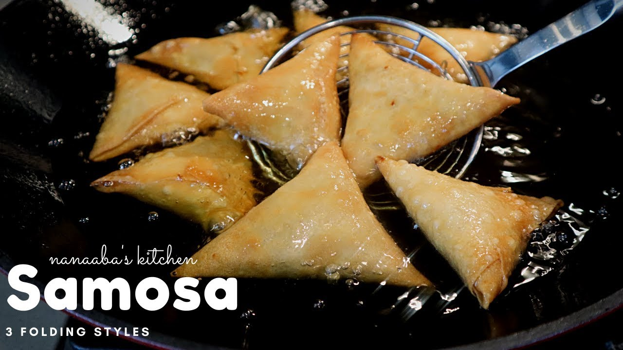 Download How to make Samosa  I step by step  3 ways to folding/ wrapping  samosa