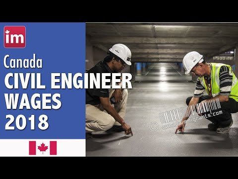 Civil Engineer Salary In Canada (2018) - Wages In Canada