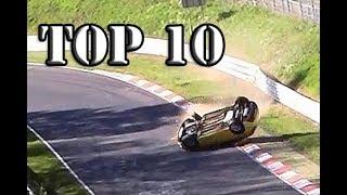 Top 10 of Hardest Crashes on Nürburgring Nordschleife / Crash Compilation 2013-2017