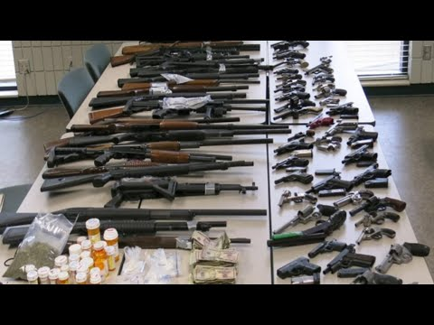 Police Seize Dozens Of Guns, Drugs, Cash During Search Of Southeast Columbus Home