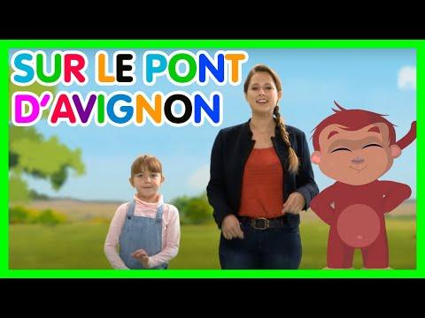 Sur le pont d'Avignon – Les Amis de Boubi (Comptines pour enfants)
