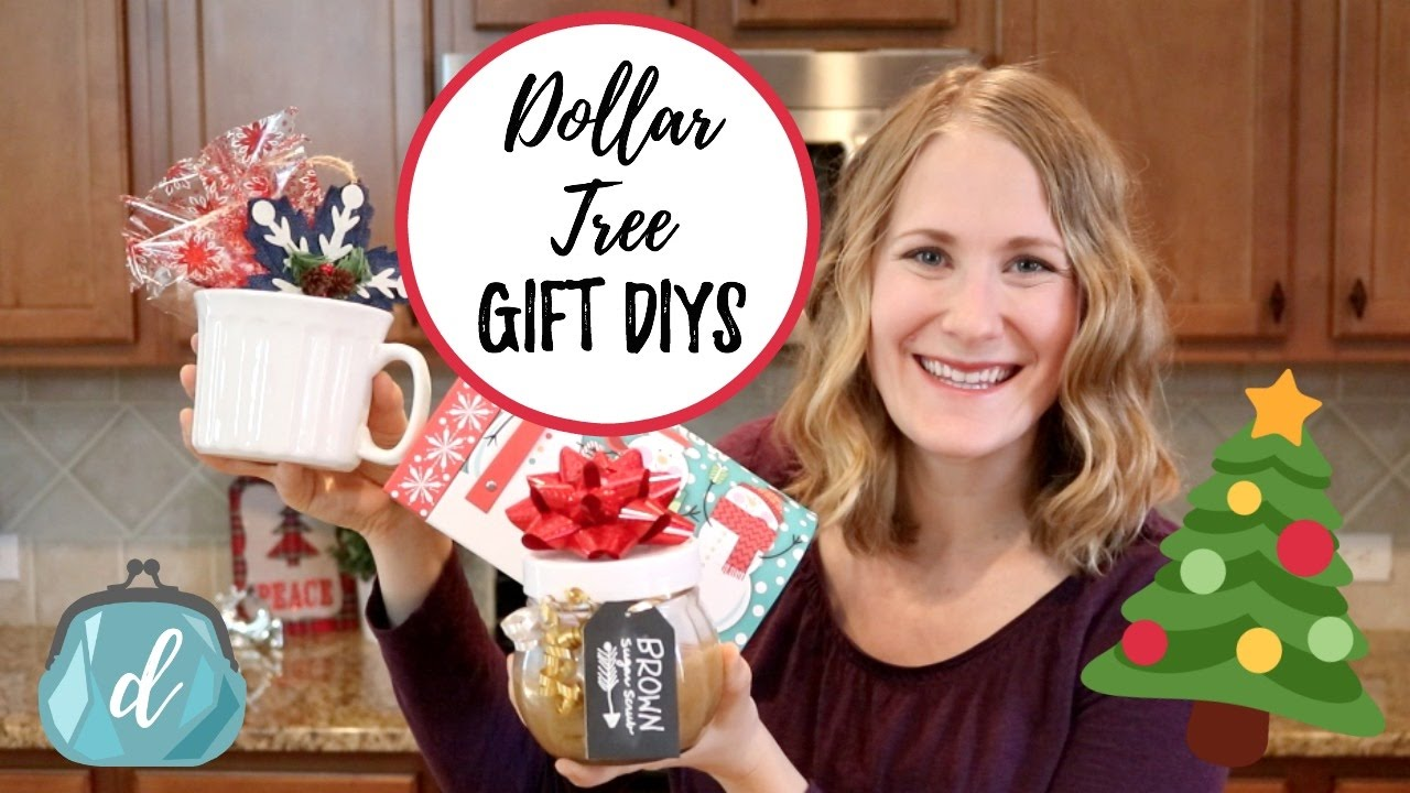 dollar tree diy gifts cute containers under 5 - Christmas Gifts Under 5 Dollars