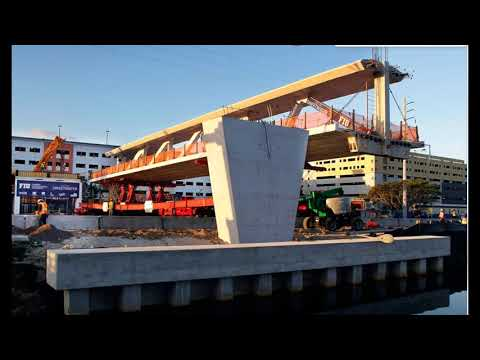 FIU Bridge Collapse and Crane Operator leaving the scene; contributed to failure?