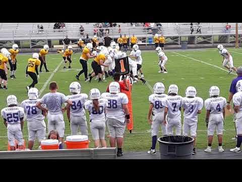 Scottsburg Football Warriors  vs Clarksville Generals Middle School /Full coverage.August 22,2019
