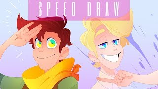 Speed Draw | David & Daniel - Camp Camp |