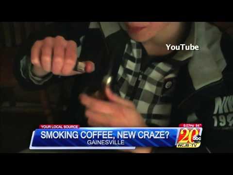 Smoking Coffee Trend Sweeps the Web