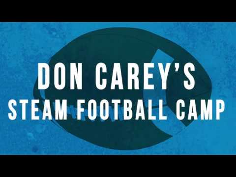 Reality Tell Your Vision: Detroit Lions Safety Don Carey STEAM Football Camp Full Video