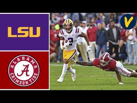 #2 LSU Vs #3 Alabama Highlights | Week 11 | College Football 2019