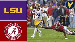 #2 LSU vs #3 Alabama Highlights | Week 11 | College Football 2019