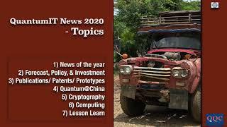 (TEASER) - สรุปข่าวไอทีควอนตัม - Quantum IT news 2020 | EP.0 (year NEWS) | 10 มี.ค. 64 | Q-Thai.Org