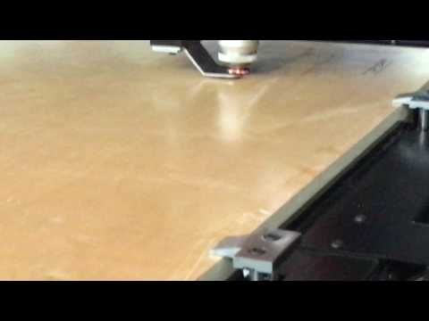 High power multi function laser die making machine