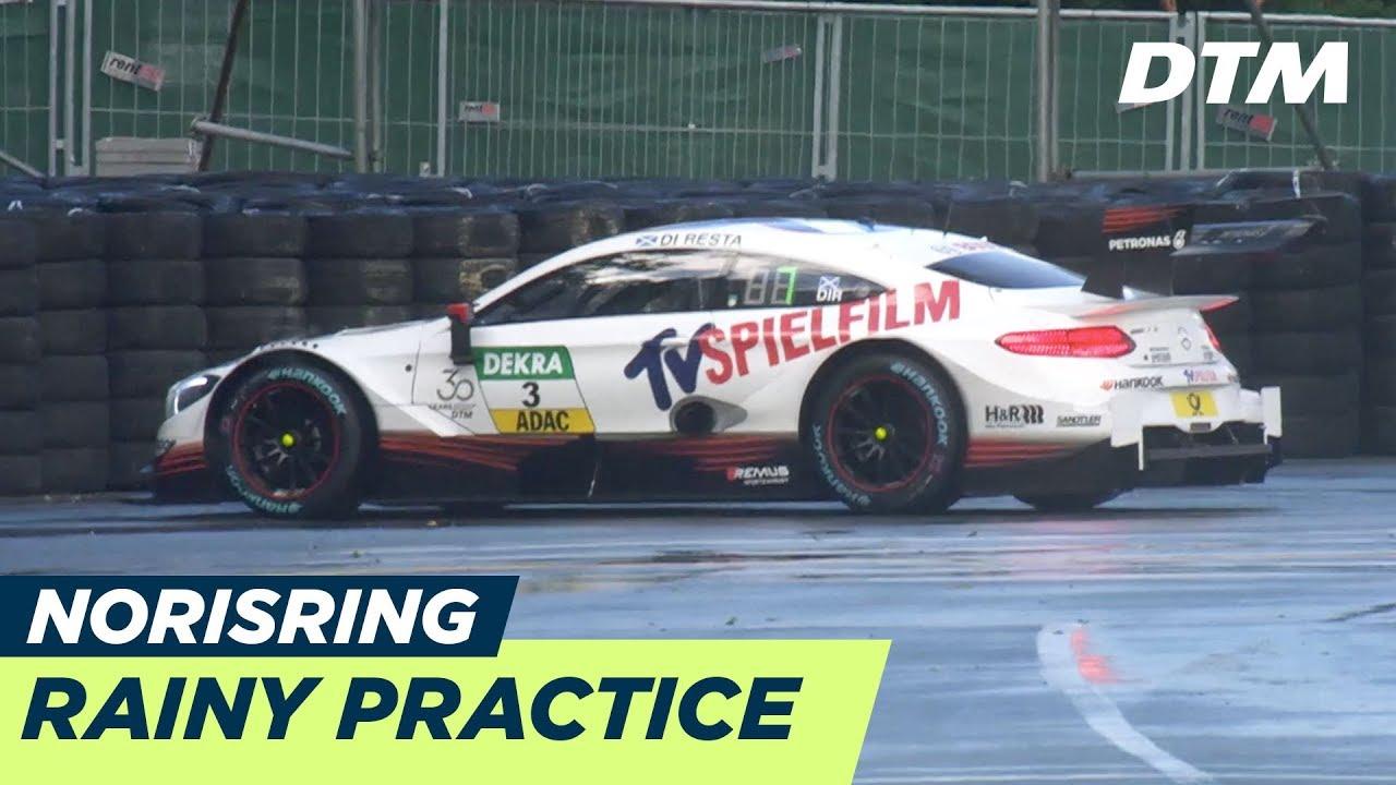 Rainy First Practice Dtm Norisring 2018