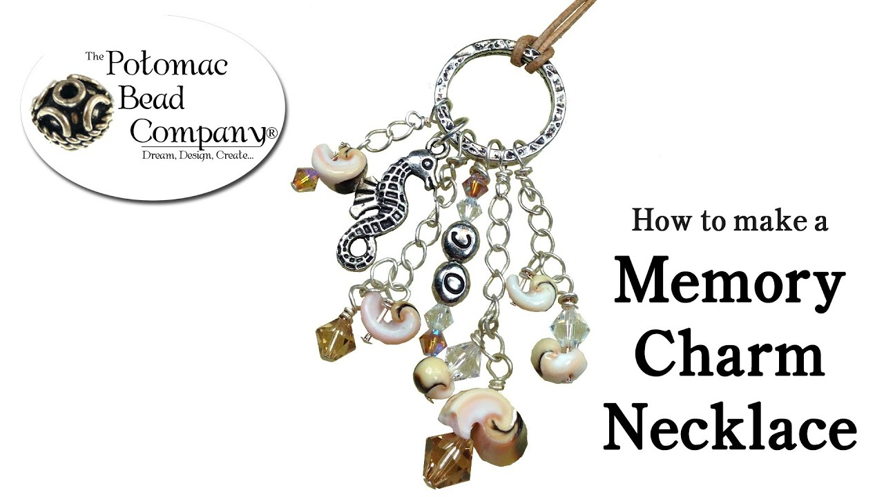 how to make a memory charm necklace or pendant