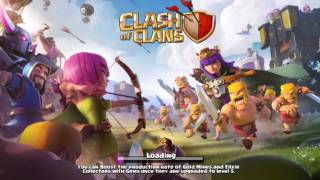Clash of clans EPIC attack (999) all troops