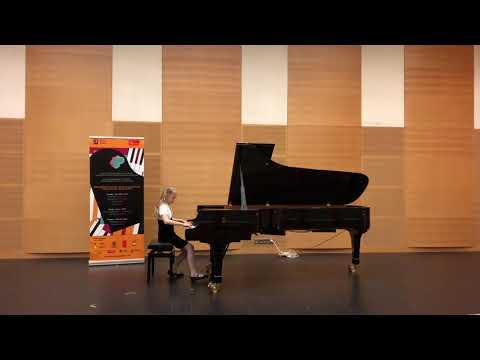 Грищёва Софья Открытые прослушивания III Конкурса пианистов Владимира Крайнева Санкт-Петербург 2019