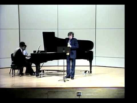 Music for Saxophone and Piano Leslie Bassett