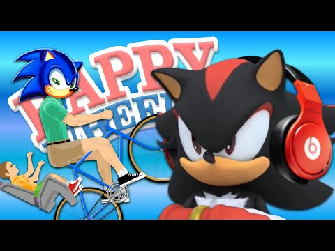 (UPDATE: READ DESCRIPTION) SHADOW Let's Play: Happy Wheels // Sonic Levels
