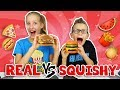 SQUISHY vs REAL 2!!!!