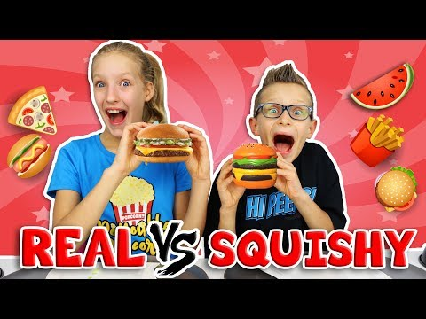 Download Youtube: SQUISHY vs REAL 2!!!!