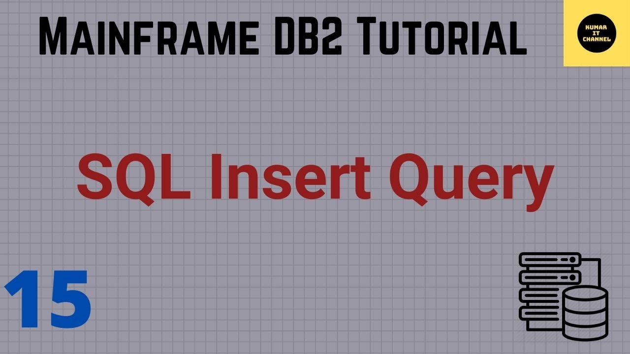 DB2 Practical QMF Insert Query