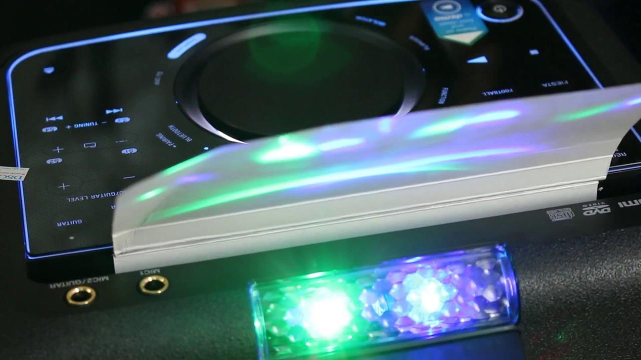 Cách sử dụng bàn phím cảm ứng loa di động SONY MHC-V50D
