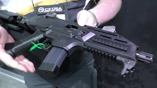 cz scorpion 9mm pistol shot show 2015