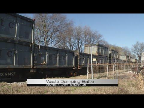 Waste dumping battle