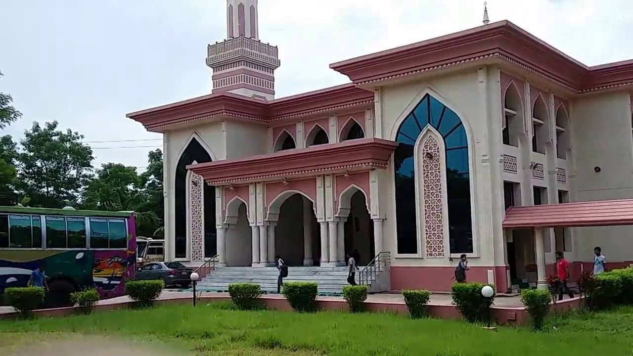 3d Masjid Wallpapers Beautiful Mosque In Bangladesh From University Iiuc Youtube