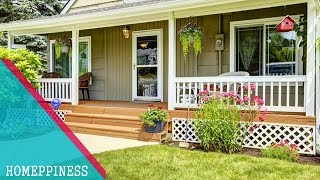 Must See !!! 30+ Simple Front Porch Design Ideas - Homeppiness