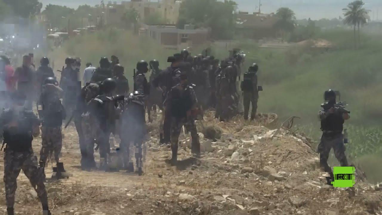 الشرطة الأردنية تفرق محتجين حاولوا اجتياز الخط الحدودي مع فلسطين  - نشر قبل 9 ساعة