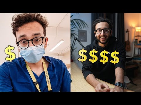 How Much Money I Earn as a Doctor + YouTuber