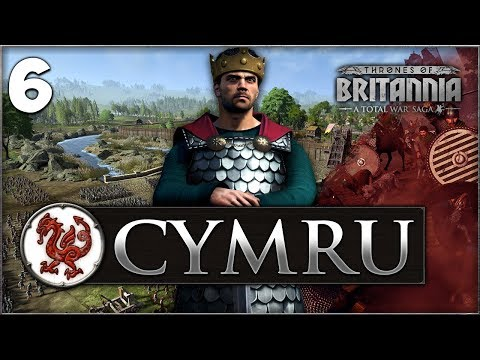 WELSH INVASION! Total War Saga: Thrones of Britannia - Gwined Campaign #6