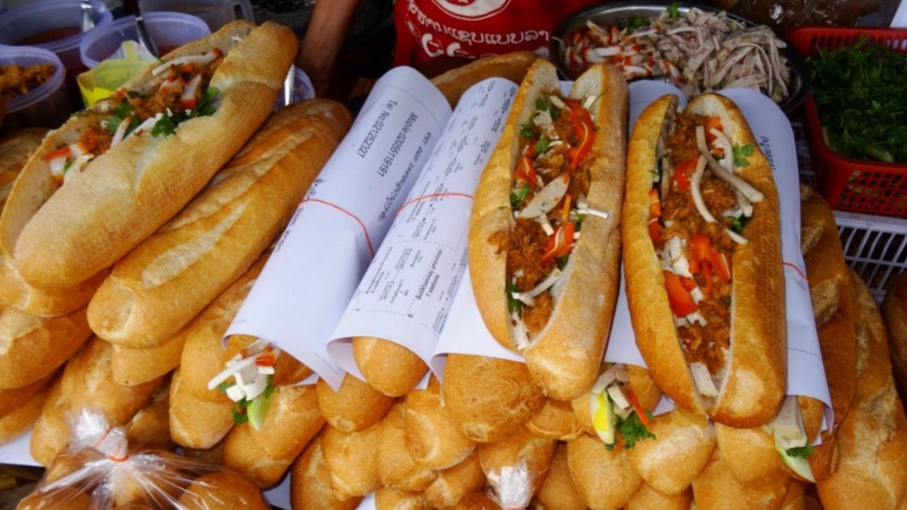 Best Street Food In Vientiane