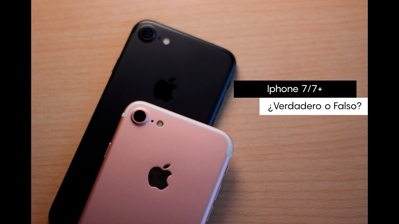Como saber si un iphone 7 o 7 plus es falso o no youtube for Como saber si es marmol