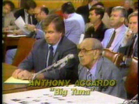 Tony (Big Tuna/Joe Batters) Accardo testifies to Congress