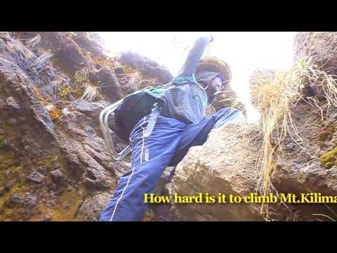 How hard to climb Kilimanjaro