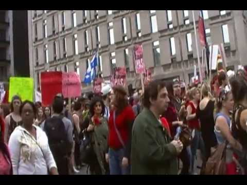 Grève Hiver 2012_ Université du Québec à Montréal 1