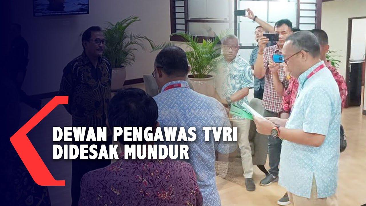 Komite Penyelamat TVRI Mendesak Dewan Pengawas Mundur ...