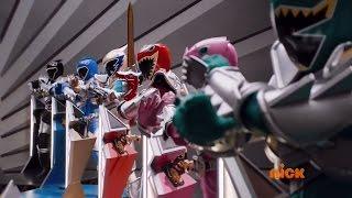 Dino Super Charge Episode 14 Silver Secret - Megazord Fight (Ultrazord)  Power Rangers Official