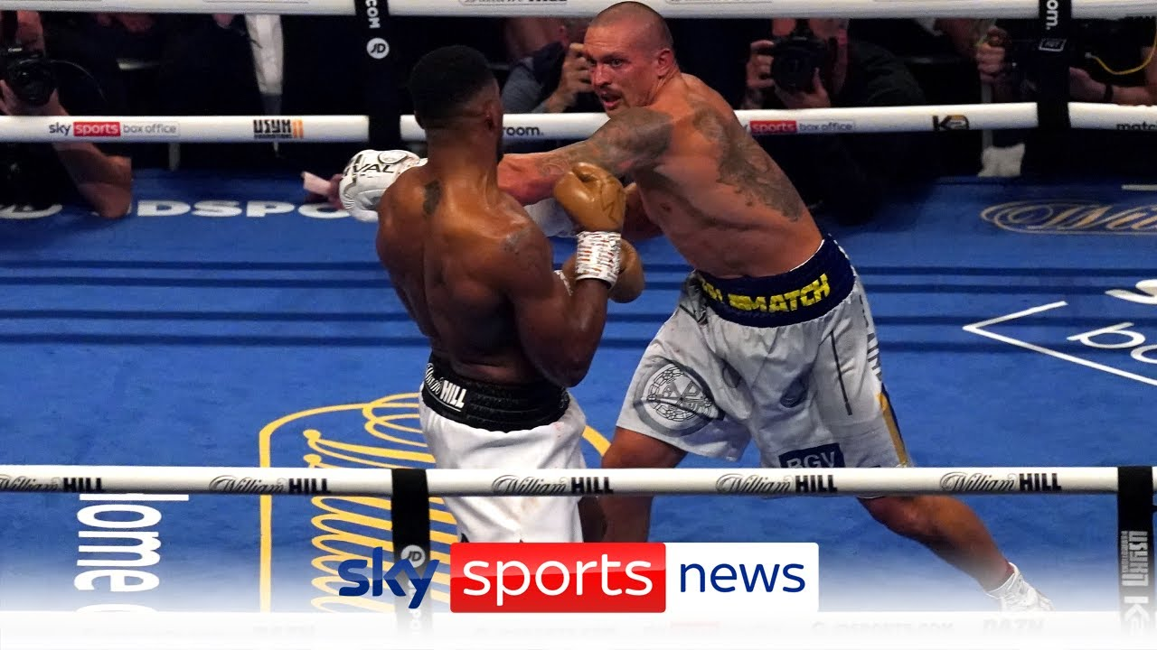 Download Oleksandr Usyk beats Anthony Joshua by unanimous decision to become the unified heavyweight champion
