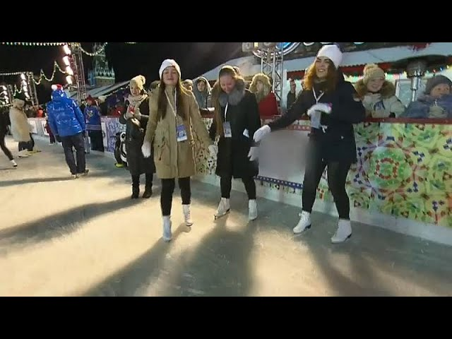 На Красной площади открылся зимний сезон