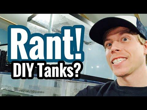 DIY Building Fish Aquarium Tanks? Acrylic or Plywood?