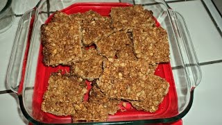 Diy Homemade Crunchy Peanut Butter Granola Bars! ~homesteading Ways