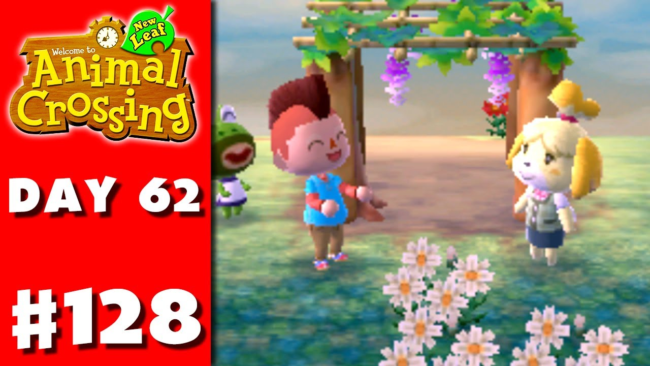 Animal Crossing: New Leaf - Part 128 - Wisteria Trellis ...