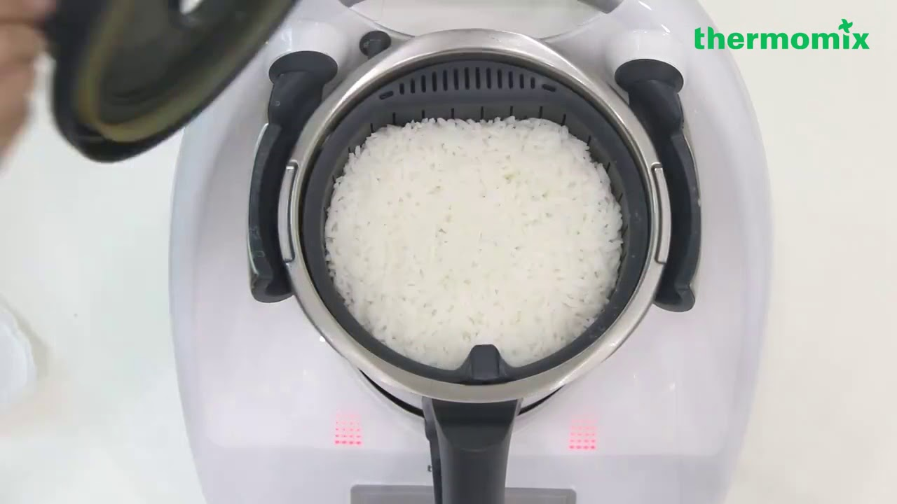 Cooking Rice With Thermomix Youtube