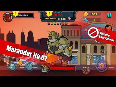 Monster vs Army - Age of Monster - Crash World (Unreleased) - Android Gameplay
