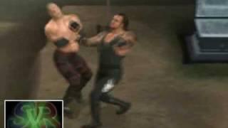 Smackdown Vs. Raw 2008: Undertaker vs Kane Buried Alive