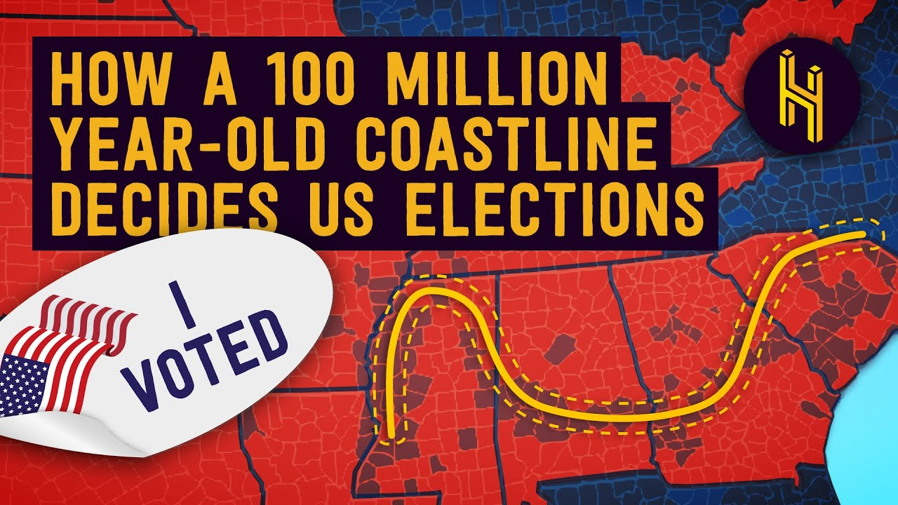 How an 100 Million Year-Old Coastline Decides US Elections